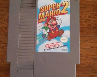 Super Mario Brothers 2 NES