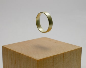 Electrum (green gold) ring