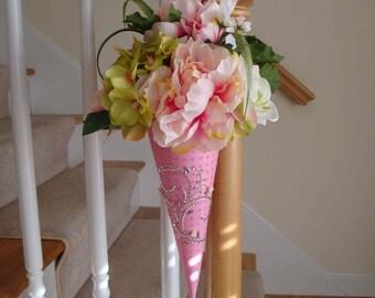 Handmade Nosegay - Spring Elegance - Easter, Spring, Wedding Aisle Decoration