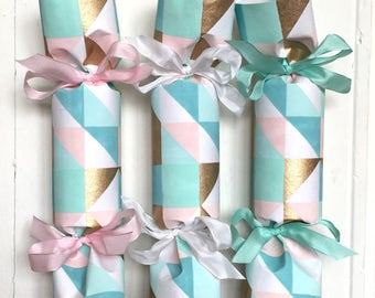 Quilt Baby Shower/Gender Reveal Party Cracker