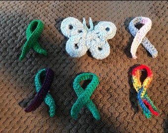 Awareness Pins or Magnets