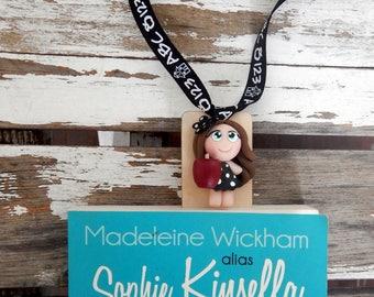 Gift teacher, teacher, teacher bookmark, teacher bookmark, book gift bookmark wooden bookmark, bookmark child, school, year end gift