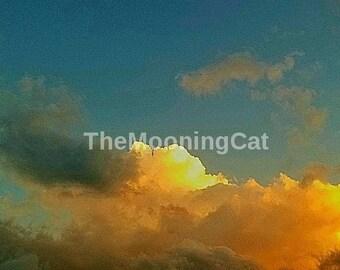 Orange Sherbet Sky