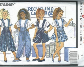 Vintage Sewing Pattern - Butterick #5477, Size 12-14