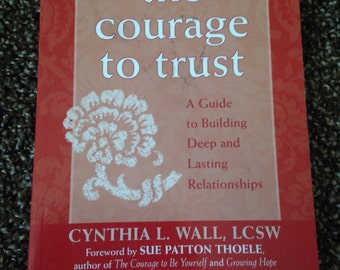 The Courage to Trust Book