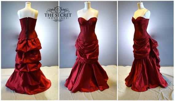 gothic wedding gown-gothic dress-valentine\'s day
