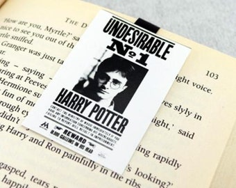 Harry Potter Undesirable number 1 Magnetic Bookmark