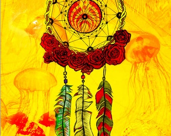 Wakarusa 2014 Poster design by Jamie Seed