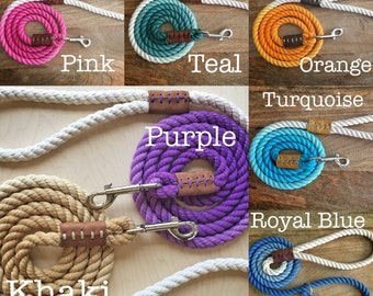 Custom Dog Leashes (MADE TO ORDER)