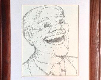 ON SALE - Stickman Portrait #5