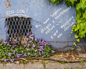 "France Travel Photography, ""Coucou Trentemoult"", Gallery Wall Art Prints, Home Decor"