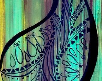 """Mandala Art Print 8""""x10"""" Series 2"""