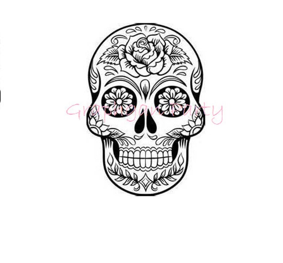 Sugar Skull For Crocheting Graphgan Perler Graph Pattern Guide