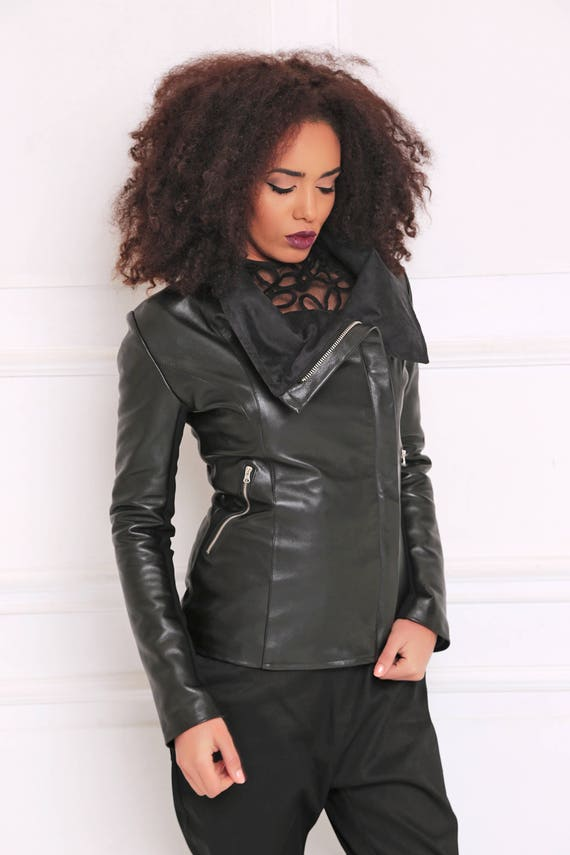 Clothing Long Jacket Gothic Coat Women Warm Jacket Coat Women A3066 Maxi Black Jacket Winter Black Jacket Leather Coat Coat zRqxSax