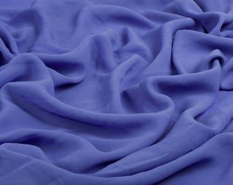 0110 Lilac  Chiffon Fabric, Soft Chiffon fabric, Fabric by the meter,bridal dress, bridesmaid skirt, chiffon fabric dress - 1 meter