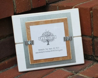 4x4 Inch Handcrafted Square Picture Frame In 1x1 Decorative