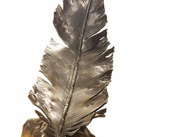 Large Steel Feather Sculpture