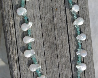 Clouds and Sea necklace