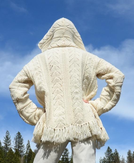 Robe Robe Fringe Fringe Sweater Robe White Knit Sweater Sweater Fringe White Sweater White Knit Knit Knit Robe 6H8RBqwHxA