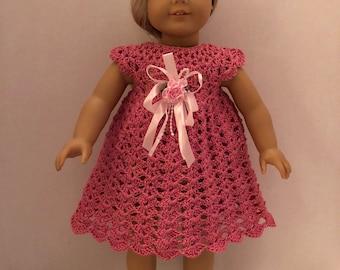 American Girl Crochet Sunshine Dress