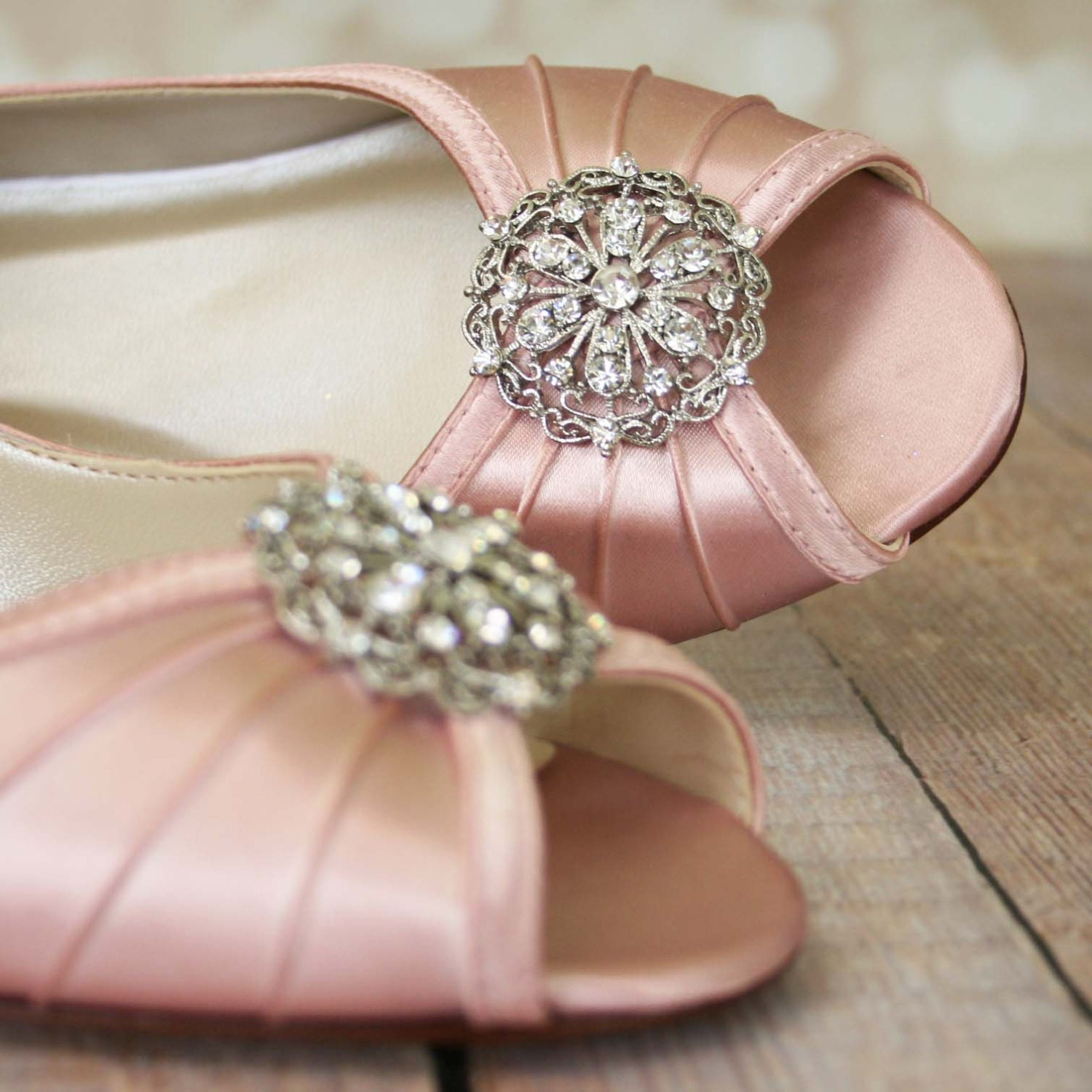 Pink Wedding Shoes Blush Pink Shoes Vintage Wedding Shoes