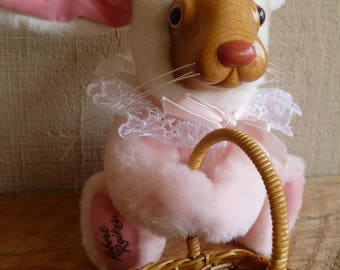 "Vintage Robert Raikes Bunny Rabbit Plush ""Easter Bunny""  Applause 1991"