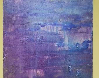 Abstract Purple wash