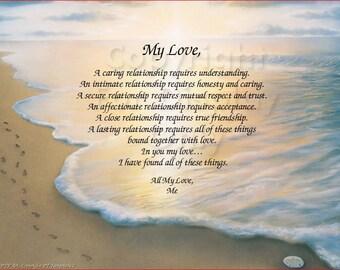 My Love - Art Id: Footprints2