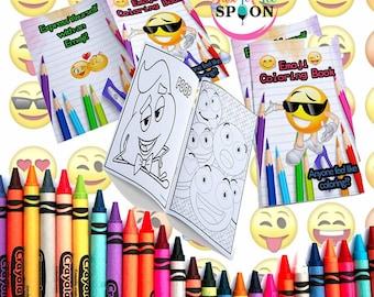 Mini coloring books