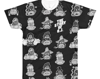 Story of O.J. Still Nig All-Over Printed T-Shirt
