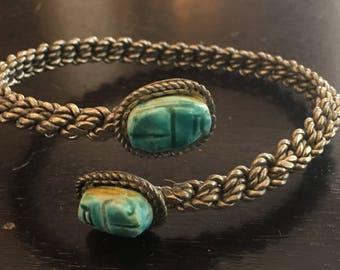 Egyptian Scarab Arm band Bracelet