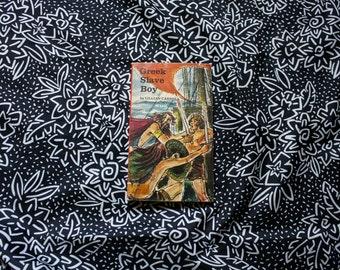 Greek Slave Boy By Lillian Carroll. 1970 First Printing Vintage Scholastic Book Paperback. Greek Slave Pirate Story