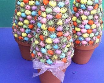 Easter Centerpiece, Egg Tree, Easter Topiary, Spring Topiary, Easter Egg, Spring Centerpiece, Easter, Spring, Topiary, Egg, Easter Egg Tree
