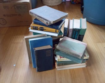 Box Lot of Antique Books  Any 5 books for 10 dollars