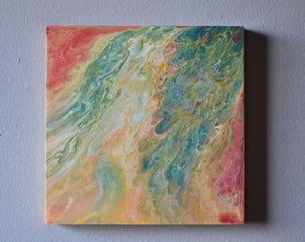 "Fluid Painting (8""x8"")"