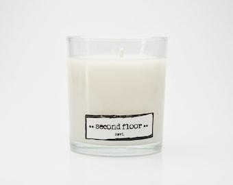Custom Fragrance || Second Floor || - 5 oz. soy candle