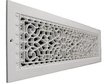 "Victorian 6 X 30"" Wall Mount Grille/Vent"