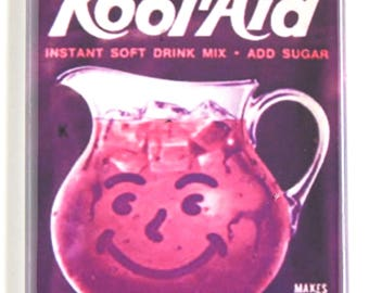 Grape Kool Aid Fridge Magnet