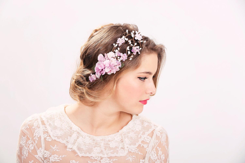 Wedding accessories bridal flower crown wedding headpiece zoom izmirmasajfo Images