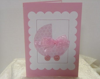 Baby Carriage Baby Card