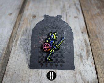 Skull Knight Pin, Soft Enamel Pin, Castlevania