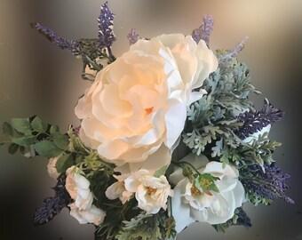 Bridal Bouquet farmhouse rustic style