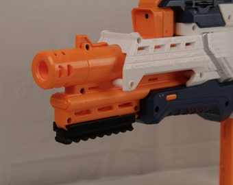 3D Printed – Nerf to Picatinny Bottom Rail Mount for Nerf Gun – Nerf CAM ECS