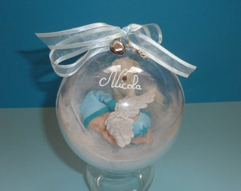 ON ORDER!  Beautiful baby fimo ball and her cub