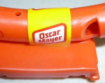 Vintage Oscar Meyer Weiner Whistle, 1960s