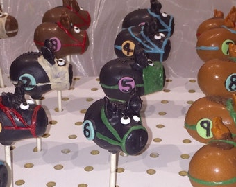 Kentucky Derby Cake Pops, CAKE POPS
