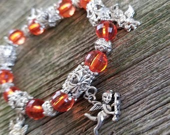 Cherub Charm Bracelet