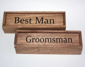 Cigar Box,Groomsman Cigar Box,Groomsman Gift,Best man Gift,Groomsman,Best man,Monogram gift,Personalized Wedding gift