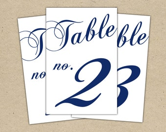 free printable table numbers wedding reception www