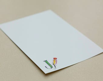 Personalised Letter Stationery - J
